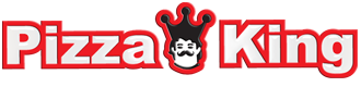 Pizza King in Compton Logo